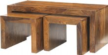 Cuba Long John Coffee Table